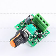 DC 1.8v-15V Wide Voltage 2A PWM Pulse Width  Modulation Motor Speed ​​Controller