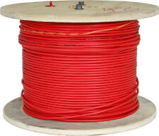 14/2 NON-PLENUM SOLID FIRE ALARM CABLE FPLR UNSHIEDLED RED 1000FT US MADE