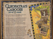 Cleopatra's Caboose - Z-Man Games - Board Game New / NIB!