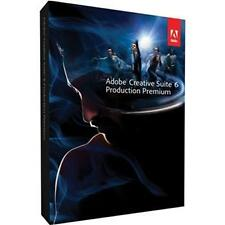 Adobe Creative Suite 6 Production Premium - Mac OS