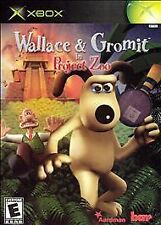 Wallace & Gromit in Project Zoo - Original Xbox Game no art work