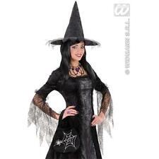 Sac à main femme noir Araignée Sorcière Halloween Costume Robe Fantaisie Accessoire Sac