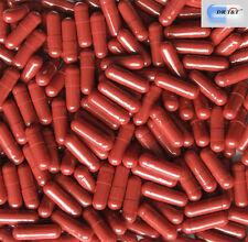 100 vacío sueca Roja de Kaletra en cápsulas de gelatina size2 Talla 2 Productos de la UE