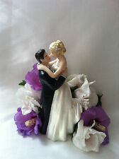 Wedding cake topper romantico True Love Sposa e Sposo Figurina
