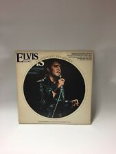 "ELVIS PRESLEY LP PICTURE DISC-"" A LEGENDARY PERFORMER-VOLUME 3 CPL 1-3078"