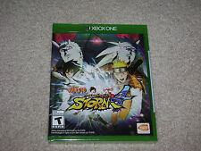 NARUTO SHIPPUDEN ULTIMATE NINJA STORM 4..XBOX ONE...**SEALED**BRAND NEW**!!!!