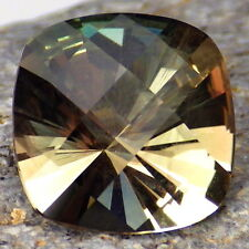 GREEN DICHROIC SCHILLER OREGON SUNSTONE 3.47Ct FLAWLESS-FOR TOP JEWELRY-VIDEO