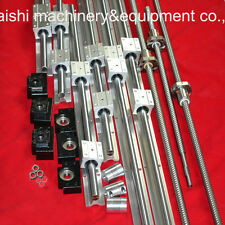 LINER RAIL BEARING 3 SBR16 SETS 3 BALLSCREW RM1605+3 SUPPORTS BK/BF12+3 couplers