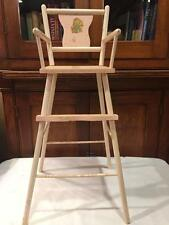 Vintage 1950s Pink Large BABY DOLL High CHAIR Antique