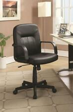 Casual Adjustable Height Black Office Task Chair by Coaster 800049