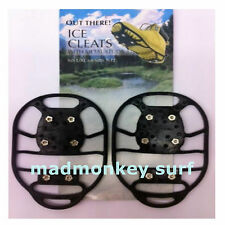 CRAMPONS OVER BOOTS SHOES snow ice cleats metal studs CLEAR FOR A £1 RRP £9.99