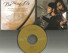 BEBE & CECE WINANS Anything ever Happened w/ RARE MIXES PROMO DJ CD Single be ce