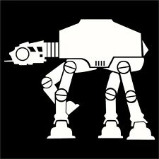 Star Wars AT-AT Decal / Sticker -Choose Size & Color- ATAT Empire Rebels Force