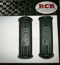 BSA A50/A65 RIDERS FOOTREST RUBBERS WITH BSA LOGO 82-9602 OEM ONE PAIR! -D902