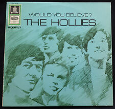 "THE HOLLIES ""WOULD YOU BELIEVE"" LP GERMAN ODEON 1st PRESS SMO-74160 LABEL ERROR"