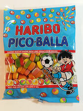 HARIBO PICO BALLA - CANDY WINE GUMS 6oz - 175g - MADE IN GERMANY - BEST PRICE