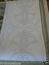 Palladian white dove grey wallpaper traditional grand elegant price per roll