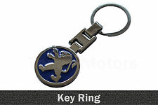 Peugeot 107 207 208 307 308 508 3008 Metal Key Ring Key Chain Key fob Blue /011