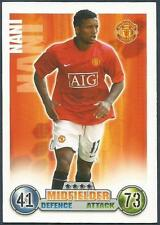 TOPPS MATCH ATTAX 2007-08 TRADING CARD-MANCHESTER UNITED-NANI