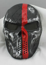 Outdoor Tactical Gear Airsoft Paintball Full Face Protection Cacique Mask M06313