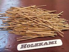 1000 Holzleisten Teak 30mm x 1mm x 0,6mm  L/B/H  Neu