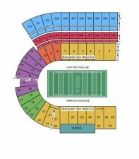 2 tickets Maryland Terrapins Football vs Ohio State Buckeyes 11/12 Chairback ...