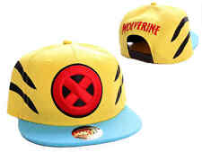 AWESOME MARVEL'S X-MEN SYMBOL - WOLVERINE STYLED SNAPBACK CAP HAT *BRAND NEW*