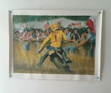World Motocross GP Oil Paint  1979 125 H.Everts / SUZUKI RH125
