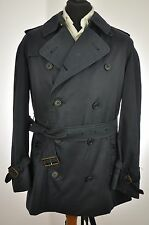"Men's BURBERRY Bespoke Short TRENCH Coat Mac - Medium 40"" EXCELLENT PIECE"