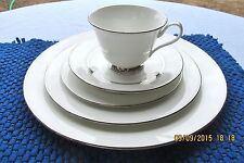 OXFORD (div LENOX) LEXINGTON 5PC PLACE SETTING dinner/salad/bread plate cup sauc