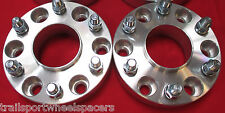 "2 pcs 6 Lug Chevy GM 1500 Truck Tahoe (1.5"") Hub centric WHEEL SPACERS ADAPTER"