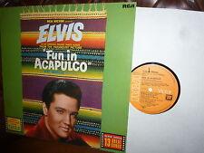Elvis Presley, Fun in Acapulko, German RCA LSP-2756, Funk Uhr