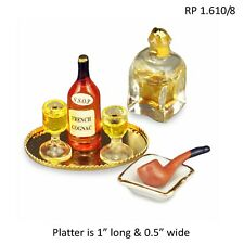 Evening Cognac Set Reutter Porcelain DOLLHOUSE MINIATURES 1:12 SCALE