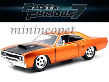JADA 97126 FAST & FURIOUS 7 DOM'S 1970 PLYMOUTH ROAD RUNNER 1/24 DIECAST COPPER