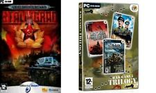 Stalingrad & war games trilogy (D-DAY- MOCKBA TO BERLIN-DESERT RATS VS AFRIKA