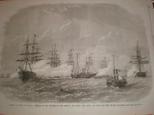 Empress Eugenie France opening of Suez Canal on the Aigle Port Said Egypt 1869