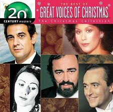 The Best Of Great Voices Of Christmas cd NEW pavarotti+