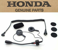 New Genuine Honda Deluxe Headset Open Face Helmets GL1800 GL1500 Goldwing #O87