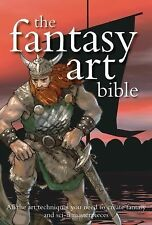 The Fantasy Art Bible Hardcover Book NEW science fiction techniques comic sci-fi