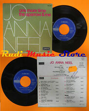 LP 45 7'' JO ANNA NEEL One more time The sparrow me 1972 france LONDON cd mc dvd
