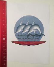 Aufkleber/Sticker: Roland ColorCAMM 5000 - Testdruck Oktober 1995 (260316162)
