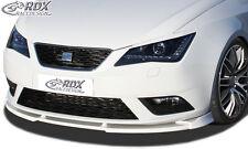 RDX Frontspoiler VARIO-X für SEAT Ibiza 6J SC/ ST Facelift ab 04/2012 nicht FR