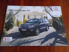 Toyota Land Cruiser V8 range brochure Mar 2012