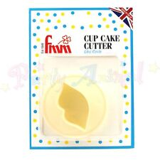 FMM Double-sided Cupcake Icing Cutter -LIPS & CIRCLE- Sugarcraft Cake Decorating