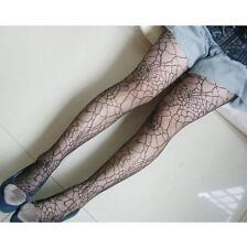 Mädchen Mode Strumpfmode Spinnennetz Strumpfhose Elastisch Strümpfe SCHWARZ