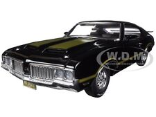 1970 OLDSMOBILE 442 CUSTOM BLACK WITH GOLD LTD 350pcs 1/18 MODEL ACME A1805607L