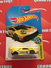 Lamborghini Huracan LP 620-2 Super Trofeo #107 2017 Hot Wheels Case E *New*