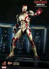HOT TOYS 1/6 MARVEL IRON MAN 3 MMS197D02 DIECAST MK42 MARK XLII ACTION FIGURE US