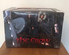 RARE NECA THE CROW ROOFTOP BATTLE ERIC DRAVEN VS TOP DOLLAR BNIB (NOT MCFARLANE