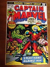 Captain Marvel #25 VF (Mar 1973, Marvel) Starlin Thanos Infinity War Movie Key
